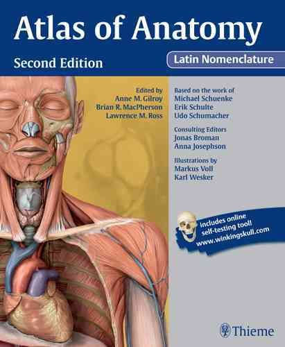 Atlas of Anatomy Latin Nomenclature By Gilroy, Anne M/ MacPherson, Brian R./ Ross, Lawrence M./ Schuenke, Michael/ Schulte, Erik